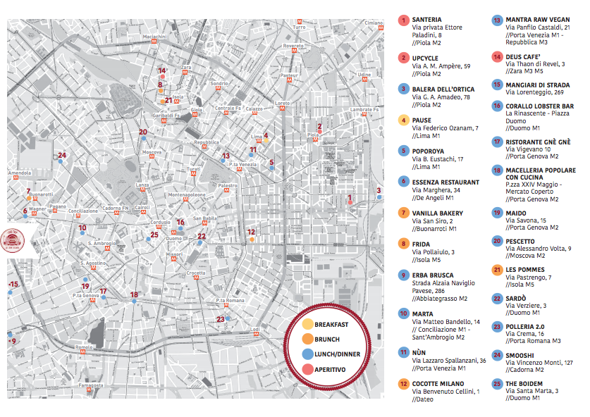 foodie map by foodtripandmore cocotte milano
